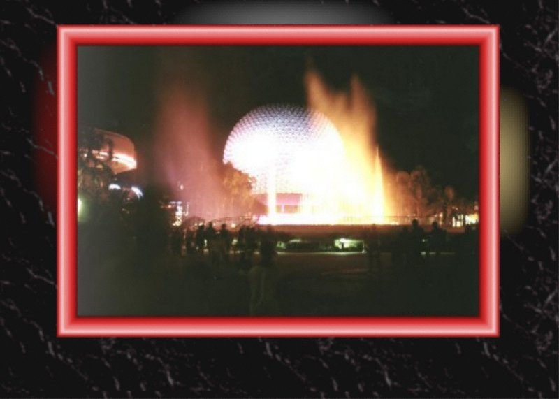 218: I. Lorenz; Spaceship Earth; Orlando; 1995
